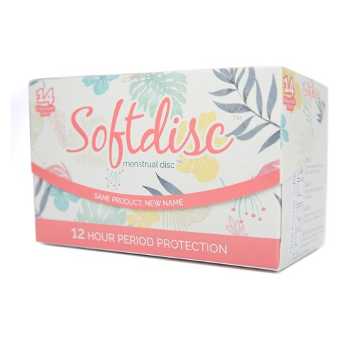 Softdisc Menstrual Discs 14ct Target