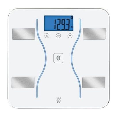 White Glass Bluetooth Scale - Weight Watchers