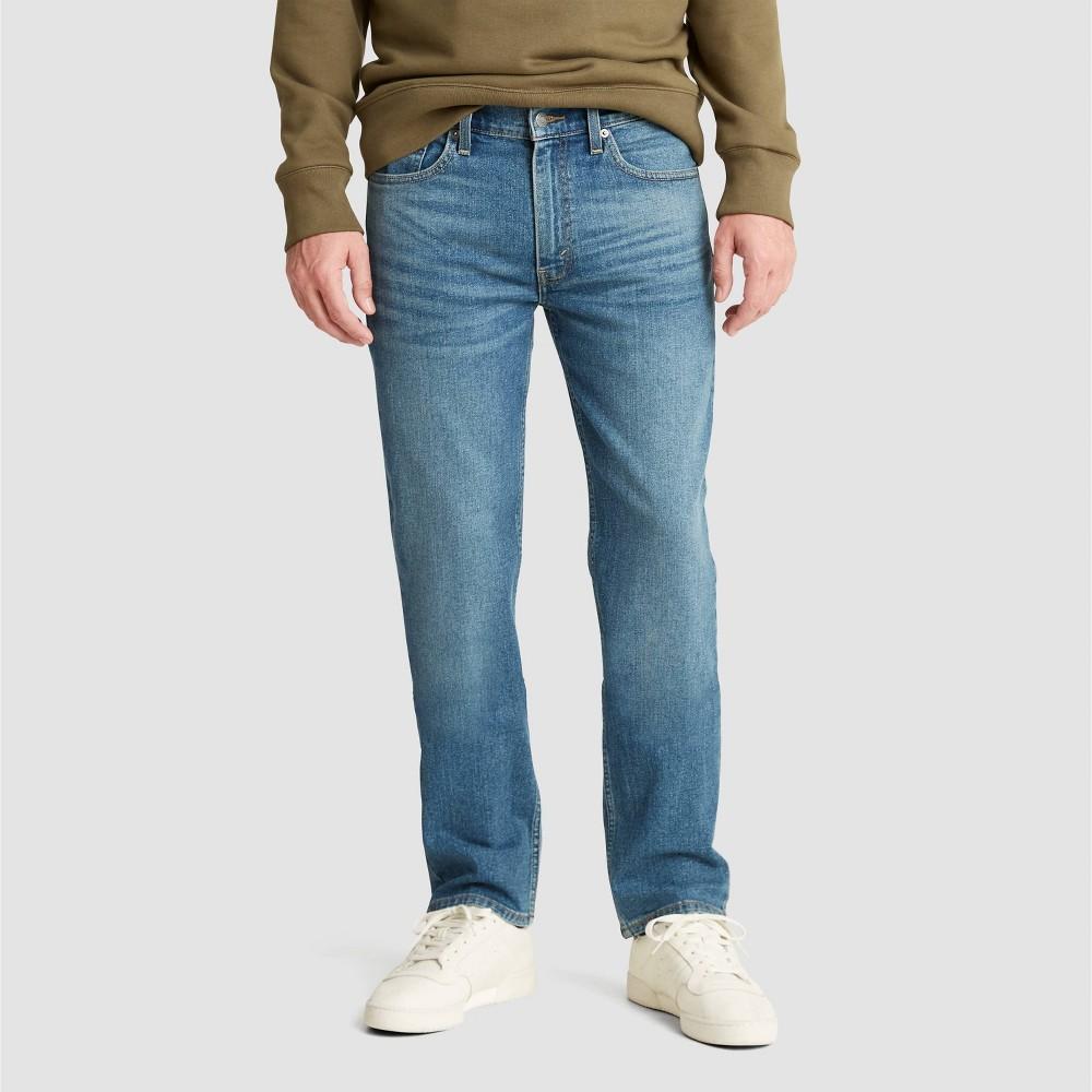 Denizen 174 From Levi 39 S 174 Men 39 S 218 Straight Fit Jeans Blue Oasis Heather 32x32