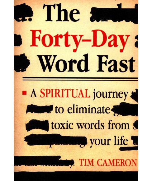 Forty-Day Word Fast (Paperback) (Tim Cameron) - image 1 of 1