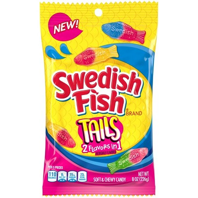 Swedish Fish Duos Candy - 8oz