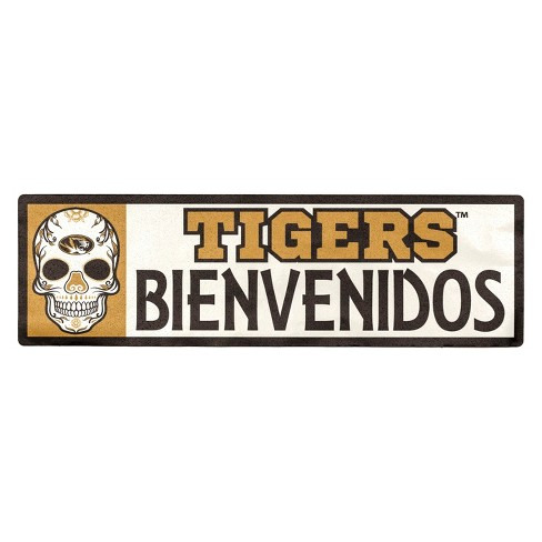 NCAA Missouri Tigers Outdoor Bienvenidos Step Decal - image 1 of 2