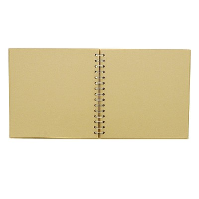 Hardcover Kraft Scrapbook Album (8 x 8 Inches, 40 Sheets)