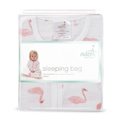 aden by aden + anais Wearable Blanket - Briar Rose - Flamingo Pink