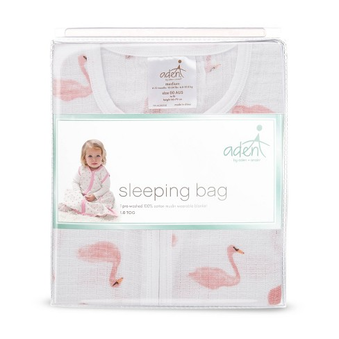 aden by aden + anais Wearable Blanket - Briar Rose flamingo pink - image 1 of 2