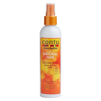 Hair Styling: Cantu Coconut Oil Shine & Hold Mist