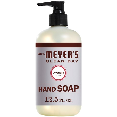 Mrs. Meyer's Clean Day Lavender Liquid Hand Soap - 12.5 fl oz - image 1 of 4