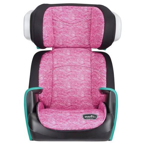 Evenflo Spectrum Booster Car Seat - Fuchsia Shock - image 1 of 4