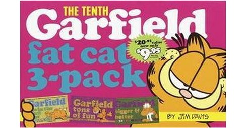 Tenth Garfield Fat Cat 3-Pack : Garfield Life in the Fat Lane (#28); Garfield Tons of Fun (#29); - image 1 of 1