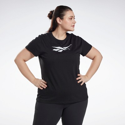Reebok Graphic Vector T-Shirt (Plus Size) Womens Athletic T-Shirts