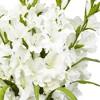 Nearly Natural Large Gladiola w/Cylinder Vase Silk Arrangement - image 2 of 3