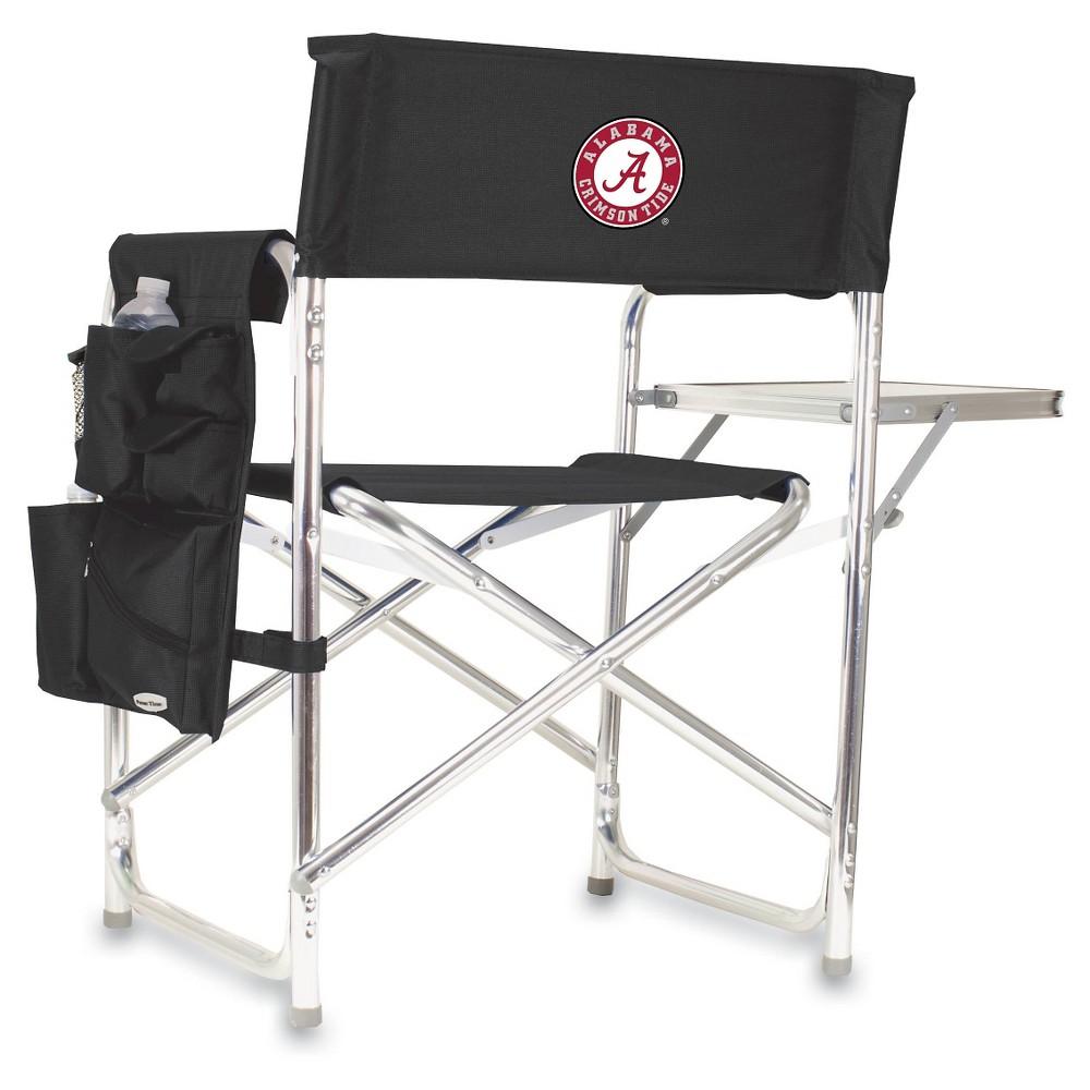 Portable Chair NCAA Alabama Crimson Tide Black