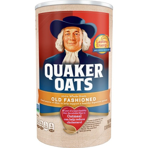 Quaker Oats Heart Healthy Old Fashioned Oats - 42oz - image 1 of 3