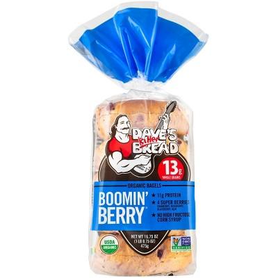 Dave's Killer Bread Organic Boomin Berry Bagels - 16.75oz/5ct