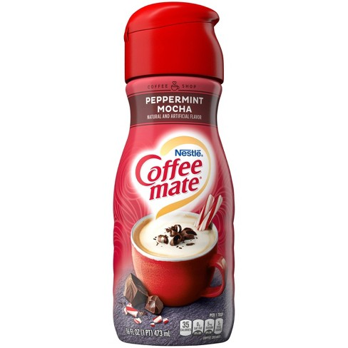 Coffee Mate Peppermint Mocha Coffee Creamer - 1pt - image 1 of 4