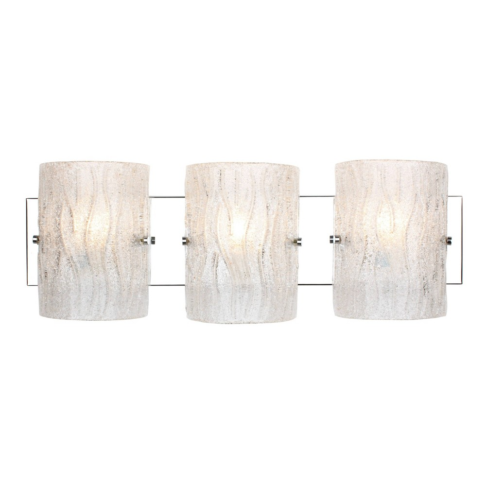 3 Light Bath Vanity Silver