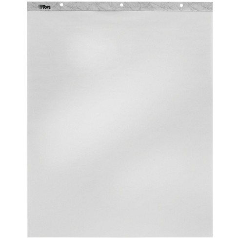 Tops Easel Pad, 27 x 34 Inches, Unruled, White, 40 Sheets, pk of 2 - image 1 of 1