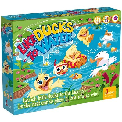 Bontus Like Ducks To Water Family Board Game | For 2-4 Players