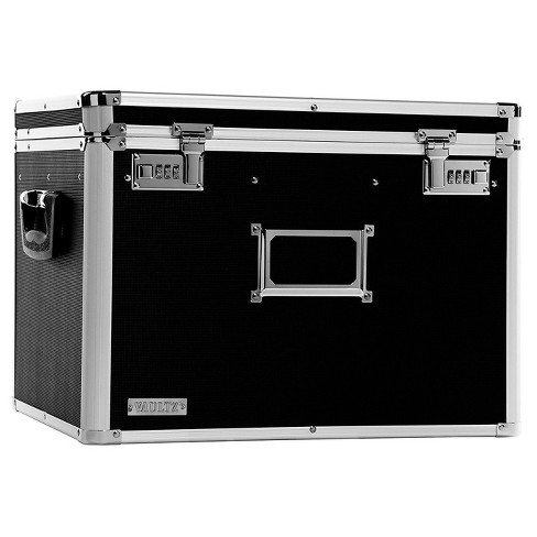 Vaultz® Locking Letter/Legal Chest - Black - image 1 of 2