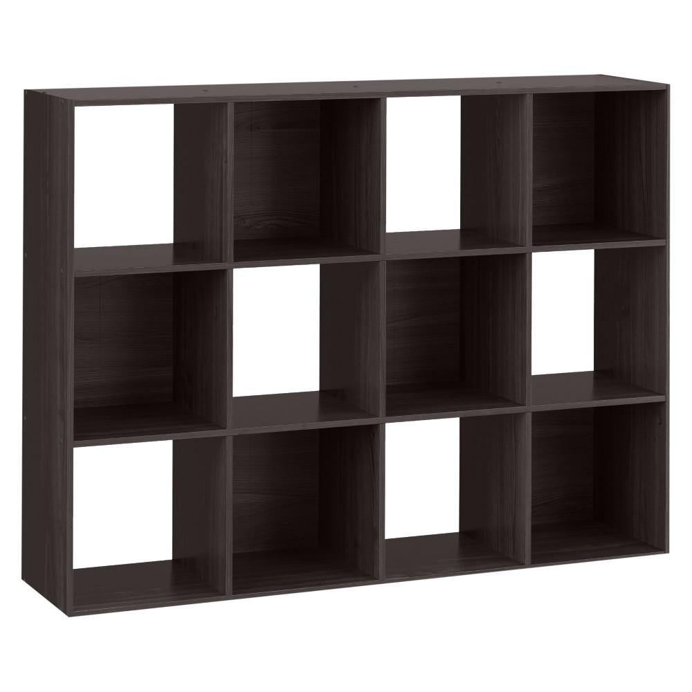 "Image of ""12-Cube Organizer Shelf Espresso Brown 11"""" - Room Essentials"""