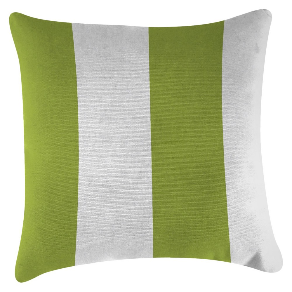 Image of Jordan Set of Accessory Toss Pillows - Cabana Stripe Citrus