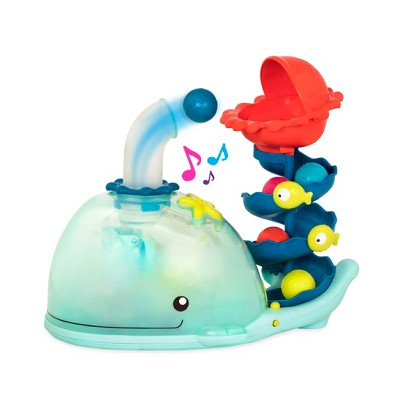 B. Toys Poppity Whale Pop Ball Popper With Music And Lights by B. Toys