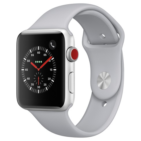 11b5cadcbf211 Apple Watch Series 3 42mm (GPS + Cellular) Aluminum Case Sport Band ...