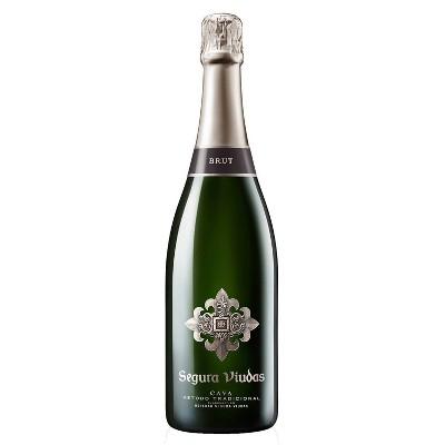 Segura Viudas Brut Cava Sparkling White Wine - 750ml Bottle