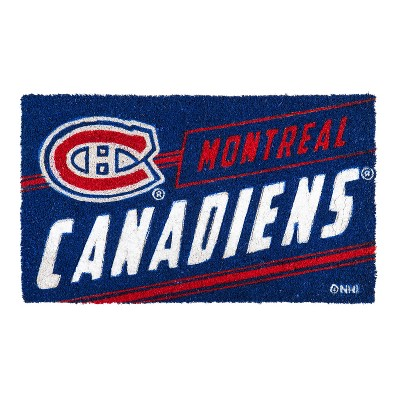 Team Sports America Montreal Canadiens Montreal Canadiens, Coir Punch Mat
