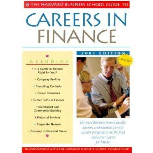 The Harvard Business School Guide to Careers in Finance 2001 - (Paperback) - image 1 of 1