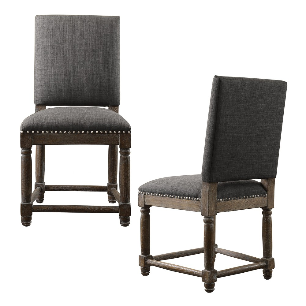 Wells Dining Chair (Set of 2) Gray