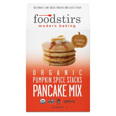 Foodstirs Organic Pumpkin Spice Stacks Pancake Mix - 18.5oz - image 1 of 1