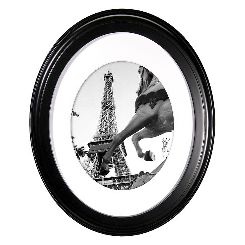 Oval Wall Frame - Black 8x10 - image 1 of 5