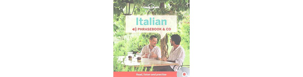 Lonely Planet Italian Phrasebook (Bilingual) (Paperback)