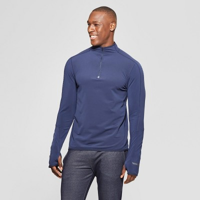 7a7d616d29116f Men s Warm Running Quarter Zip - C9 Champion®