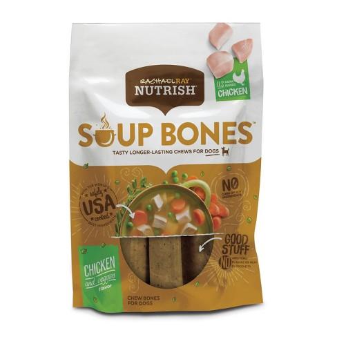 Rachael Ray Nutrish Soup Bones Dog Treats - Chicken & Veggie - 23.1oz - image 1 of 4