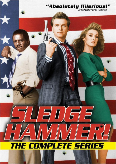 Sledge hammer:Complete series (DVD) - image 1 of 1