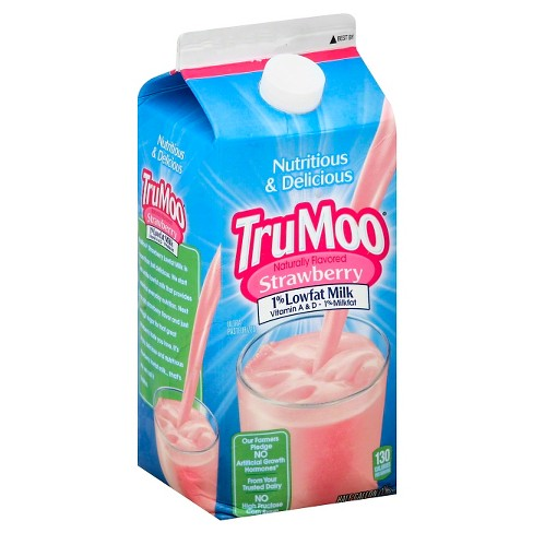 TruMoo 1% Strawberry Milk - 0.5gal - image 1 of 1