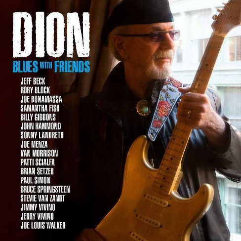 Dion - Blues With Friends (CD) - image 1 of 1