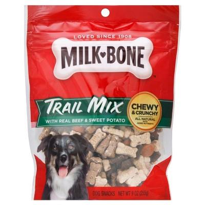 Milk-Bone Trail Mix Beef & Sweet Potato Dog Snacks -9oz