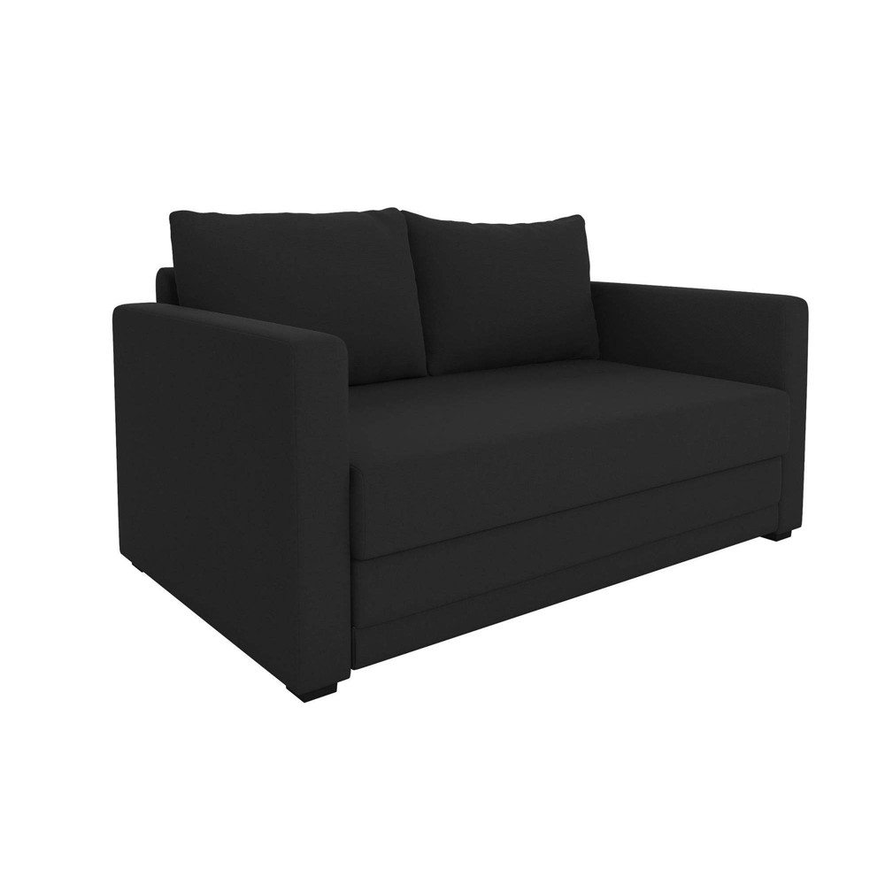 Seth Flip Sleeper Sofa Chair Black - Room & Joy