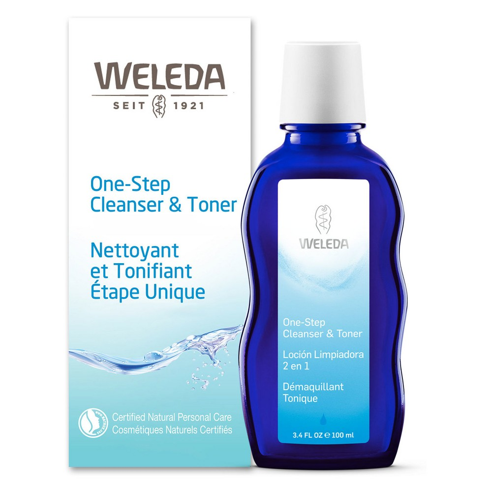 Weleda One Step Cleanser & Toner - 3.4 fl oz