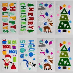 8pk Holiday Gel Clings - Bullseye's Playground™