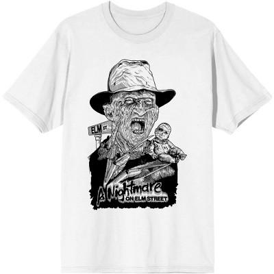 Mens Freddy Krueger Nightmare on Elm Street Shirt