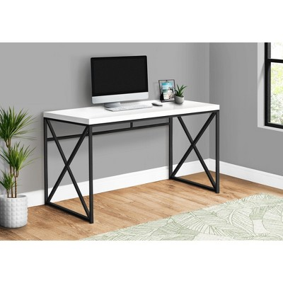 "Monarch Specialties Computer Desk, Contemporary Home & Office Desk, Scratch-Resistant, 48"" L"