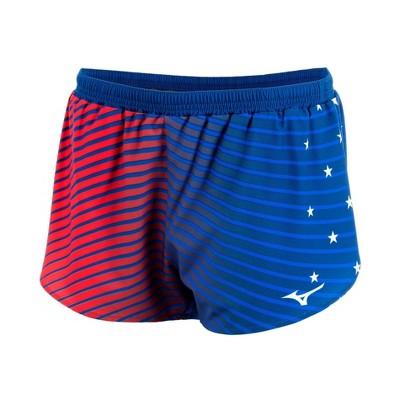 "Mizuno Women's 2.5"" Patriotic Shorts"