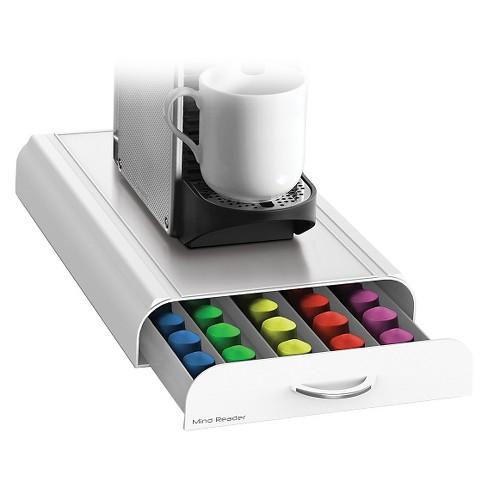 Mind Reader Anchor Nespresso Capsule Drawer White