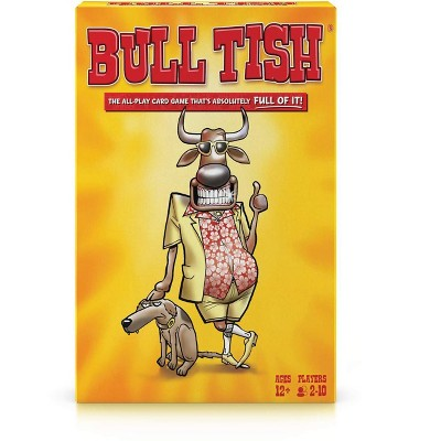 TDC Games Bull Tish The All-Play Card Game That's Absolutely Full of IT!