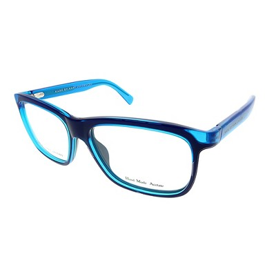 Marc by Marc Jacobs  MGA Unisex Rectangle Eyeglasses Blue Fluorescent Blue 54mm