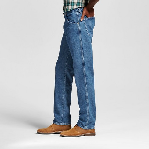 0abdffc6 Wrangler® Men's 5-Star Regular Fit Jeans Stonewash 42x34 : Target